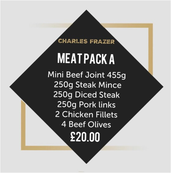 Charles Frazer Butchers Glasgow Meat Pack A
