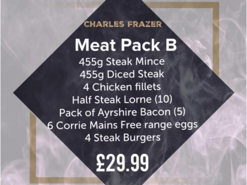 Charles Frazer Butchers Glasgow Meat Pack B