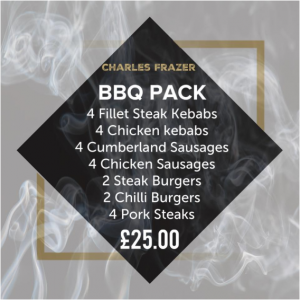 Charles Frazer Butchers Glasgow BBQ Pack