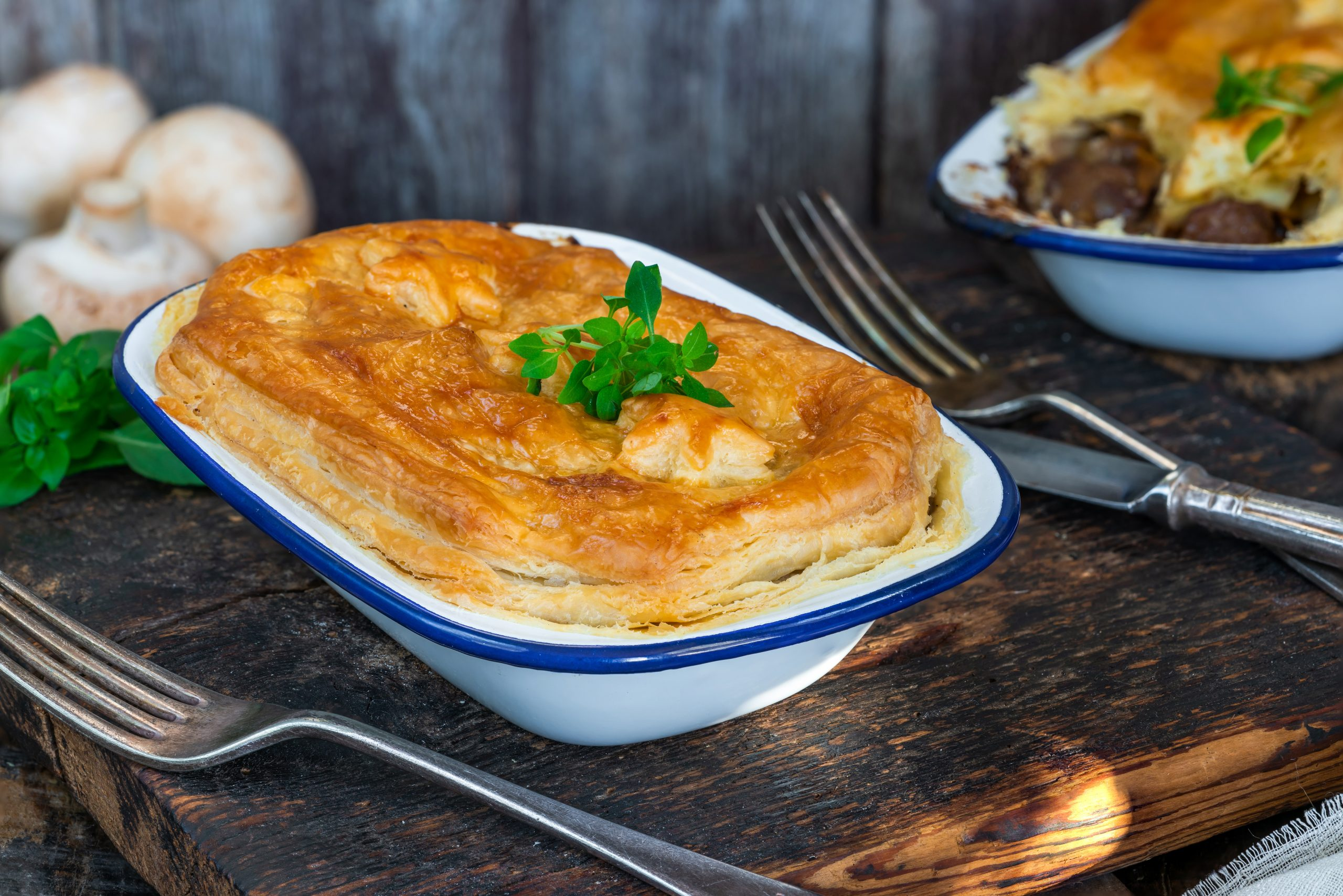 Homemade Steak Pie pies - Charles Frazer Butchers Glasgow